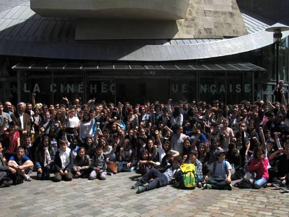 O MUNDO À NOSSA VOLTA - Cinema, cem anos de juventude 2017-2018- apresentação dos filmes -ensaio @ Cinémathèque Française