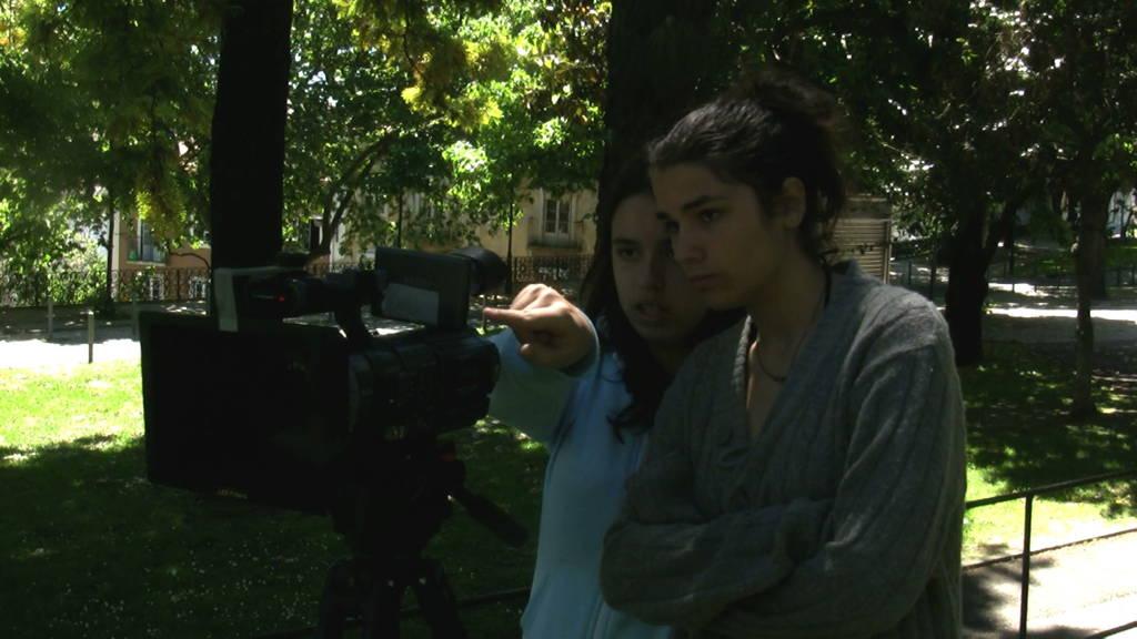 CINEMA, CEM ANOS DE JUVENTUDE – O Plano Sequência – Escola E.B.2.3 Marquesa de Alorna – Lisboa – rodagem filme-ensaio