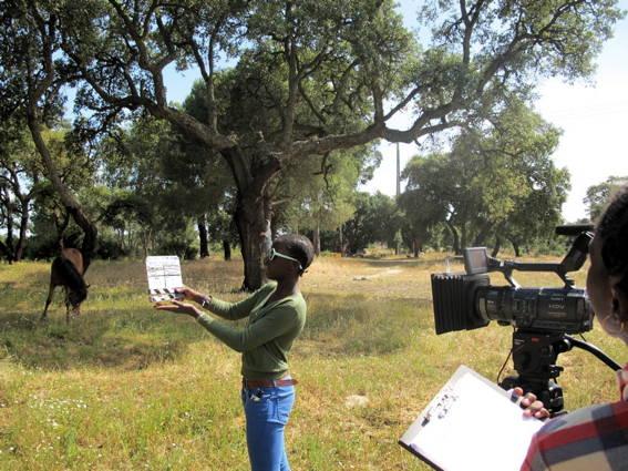CINEMA, CEM ANOS DE JUVENTUDE – O Plano Sequência – Escola E.B.2.3. Vale da Amoreira – Moita – rodagem filme-ensaio