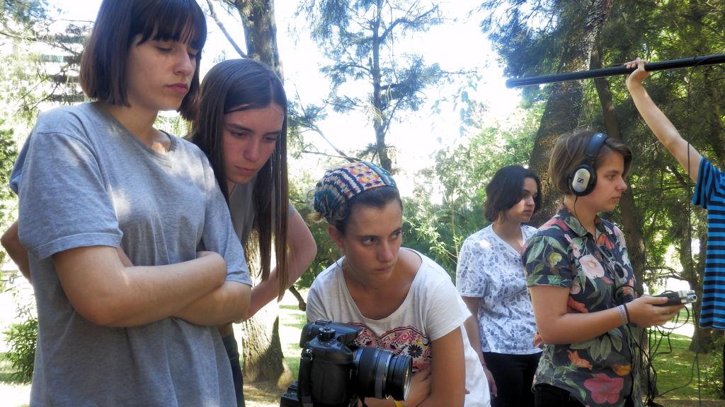 O MUNDO À NOSSA VOLTA - Cinema, cem anos de juventude - Escola Secundária de Camões - Filmagem filme-ensaio @ Lisboa