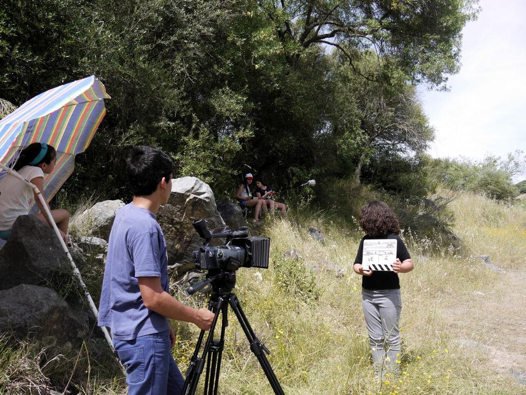 O MUNDO À NOSSA VOLTA - Cinema, cem anos de juventude - Biblioteca Abade Correia da Serra - Serpa - Filmagem filme-ensaio @ Rio Guadiana