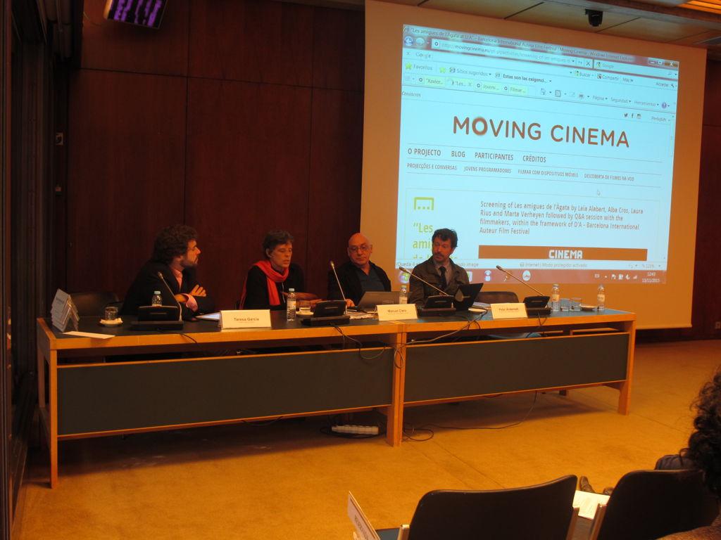 """MOVING CINEMA - Mostra Espanha 2015:  """"Diálogos Transfronteiriços"""" @ Fundação Calouste Gulbenkian"""
