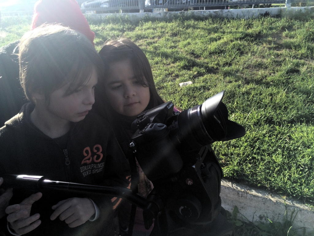 O MUNDO À NOSSA VOLTA - Cinema, cem anos de juventude - Filmagem Exercício 3 @ E.B.1/JI Vale da Amoreira