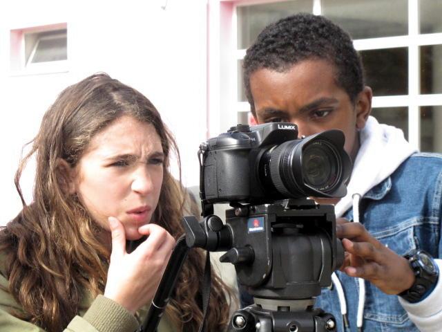 O MUNDO À NOSSA VOLTA - O Primeiro Olhar 95 - Filmagem @ Escola Básica Damião de Góis