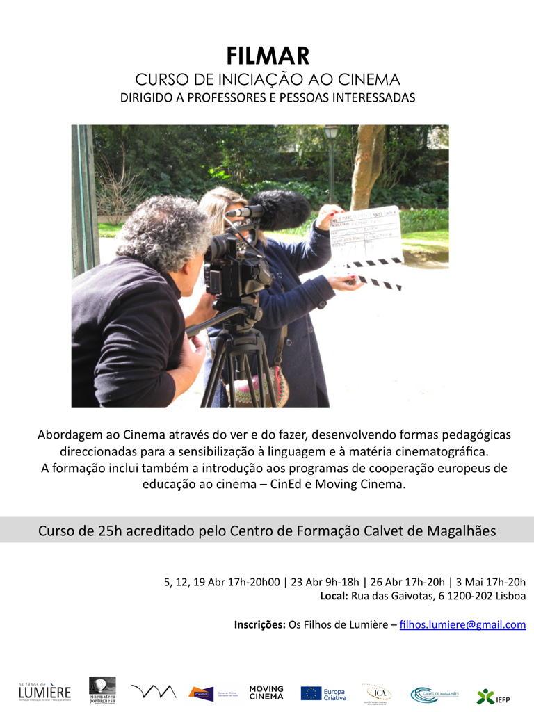 CINED - Filmar 20 @ Rua das Gaivotas 6 / Os Filhos de Lumière
