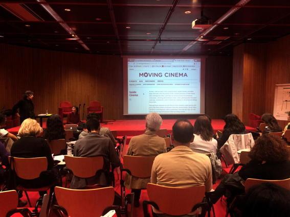 O MUNDO À NOSSA VOLTA / MOVING CINEMA / Filmar - O Que é o Cinema ? @ Culturgest