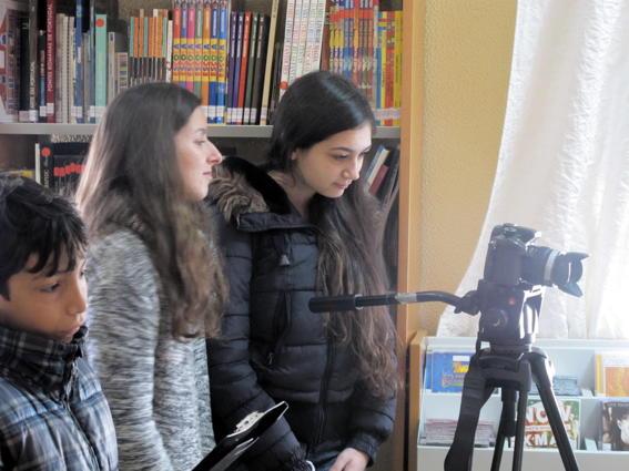 O MUNDO À NOSSA VOLTA – Cinema cem anos de juventude – Filmagem Exercícios @ Escola Básica Pintor Almada Negreiros