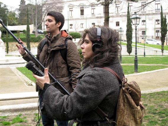 O MUNDO À NOSSA VOLTA / CINED / MOVING CINEMA - Filmar 22 - Filmagem @ Museu das Comunicações