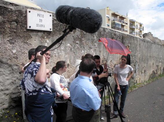 O MUNDO À NOSSA VOLTA – O Primeiro Olhar 102 - Filmagem @ APPACDM, Lisboa
