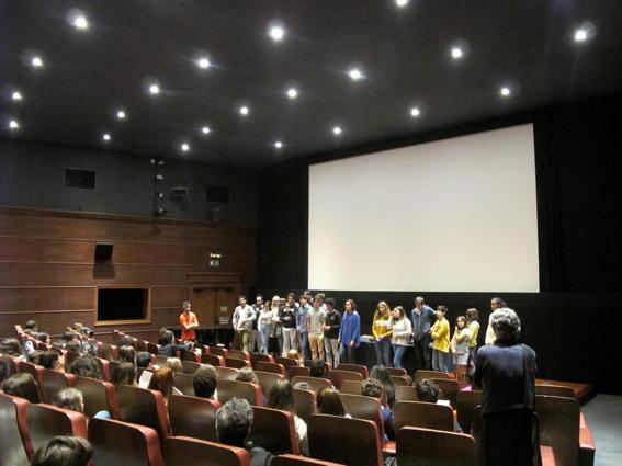 O MUNDO À NOSSA VOLTA / Cinema, cem anos de juventude - Apresentação dos filmes finais 2016-2017 @ Cinemateca Portuguesa