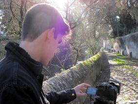 O MUNDO À NOSSA VOLTA – Cinema cem anos de juventude – Filmagem exercícios @ Escola Secundária Miguel Torga