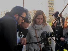O MUNDO À NOSSA VOLTA – Cinema cem anos de juventude – Filmagem exercícios @ Escola Básica Moinhos da Arroja