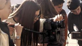 O MUNDO À NOSSA VOLTA - Cinema cem anos de juventude - Filmagem exercícios @ Escola E.B.1 Vila Nova de São Bento
