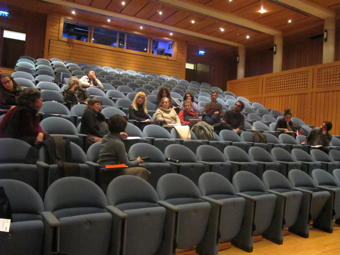 O MUNDO À NOSSA VOLTA - Cinema cem anos de juventude - Balanço intermédio @ Auditório da E.S. de Camões