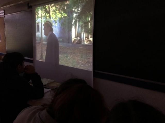 O MUNDO À NOSSA VOLTA - Cinema cem anos de juventude - Visionamento de fragmentos de filmes @ Escola Secundária de Serpa