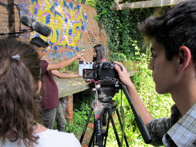 O MUNDO À NOSSA VOLTA - Cinema cema nos de juventude - Filmagem filme-ensaio @ Escola Secundária Miguel Torga