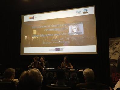 CINED III - Simpósio - Transmitir o cinema de património aos jovens de hoje - Festival Il Cinema Ritrovato @ Cineteca di Bolonha