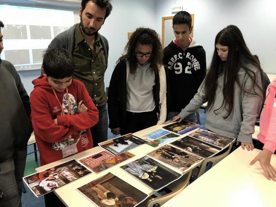 O MUNDO À NOSSA VOLTA – Cinema cem anos de juventude – Exercício @ Escola Básica Moinhos da Arroja