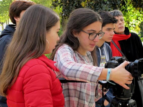 O MUNDO À NOSSA VOLTA – Cinema cem anos de juventude – Filmagem Exercício @ Escola Secundária de Serpa