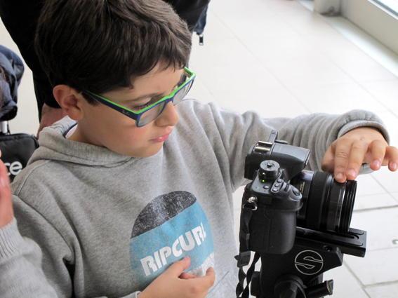 O MUNDO À NOSSA VOLTA – Cinema cem anos de juventude – Filmagem Exercício @ Escola E.B.2.3 André de Resende - Évora