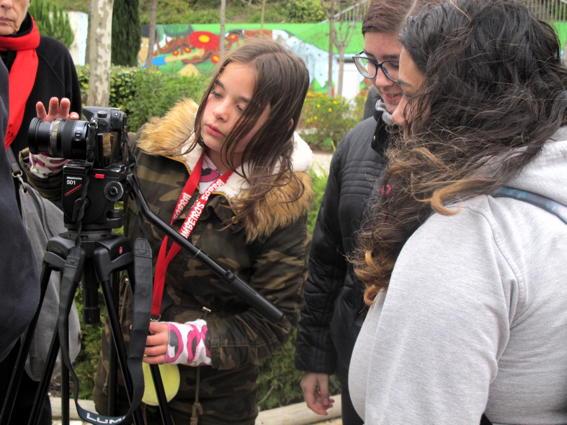 O MUNDO À NOSSA VOLTA – Cinema cem anos de juventude – Filmagem Exercício @ Escola E.B.2.3 de Sobral de Monte Agraço