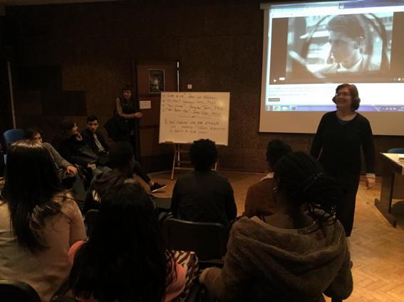 O MUNDO À NOSSA VOLTA – Cinema cem anos de juventude – Exercício @ Escola Secundária Marquês de Pombal