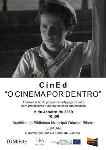 CINED IV – O Cinema por Dentro @ Biblioteca Municipal Orlando Ribeiro, Lumiar