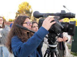 O MUNDO À NOSSA VOLTA - Cinema cem anos de juventude - Filmagem Exercício @ Escola Secundária Miguel Torga