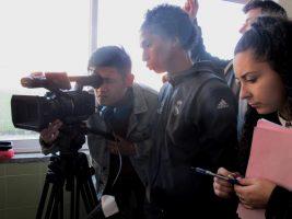O MUNDO À NOSSA VOLTA – Cinema cem anos de juventude – Filmagem Exercício @ Escola Secundária Marquês de Pombal