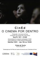 CINED IV - O Cinema por Dentro @ Cineclube de Tavira