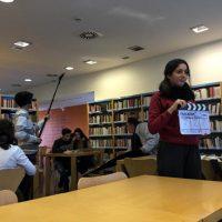 O MUNDO À NOSSA VOLTA - Cinema, cem anos de juventude - Filmagem Exercício @ Escola Secundária de Serpa