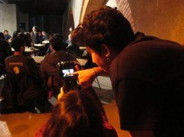 O MUNDO À NOSSA VOLTA – O PRIMEIRO OLHAR 110 – Filmagem @ Escola Secundária de Camões