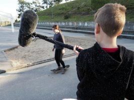 O MUNDO À NOSSA VOLTA – Cinema cem anos de juventude – Filmagem Exercícios @ Escola E.B.2.3 de Sobral de Monte Agraço