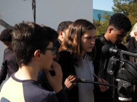 O MUNDO À NOSSA VOLTA – Cinema cem anos de juventude – Filmagem Exercício @ Escola Secundária Matias Aires