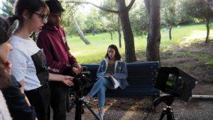 O MUNDO À NOSSA VOLTA – Cinema cem anos de juventude – Filmagem Exercício @ Escola Secundária Miguel Torga