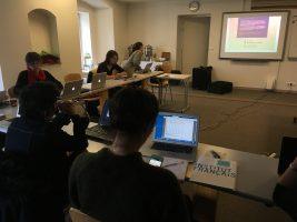 CINED IV - Encontro dos parceiros - 1º dia @ Institut Français, Vilnius, Lituânia