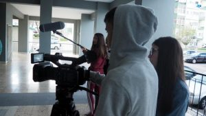 O MUNDO À NOSSA VOLTA – Cinema cem anos de juventude – Filmagem Exercício @ Escola Básica Moinhos da Arroja