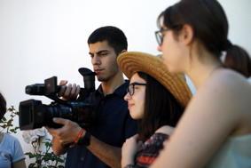 O MUNDO À NOSSA VOLTA - Cinema cem anos de Juventude - Filmagem filme-ensaio @ Escola Secundária Miguel Torga