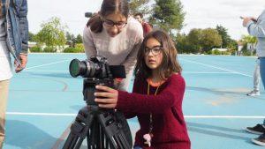 O MUNDO À NOSSA VOLTA - Cinema cem anos de Juventude - Filmagem filme-ensaio @ Escola E.B.2.3 André de Resende - Évora