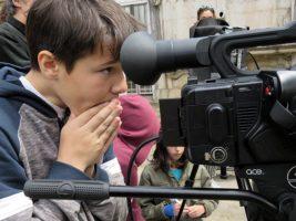 O MUNDO À NOSSA VOLTA - Cinema cem anos de Juventude - Filmagem filme-ensaio @ Escola E.B.2.3 Marquesa de Alorna