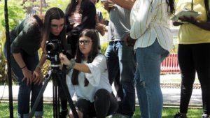 O MUNDO À NOSSA VOLTA - Cinema cem anos de Juventude - Filmagem filme-ensaio @ Escola Básica Moinhos da Arroja