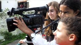 O MUNDO À NOSSA VOLTA / Cinema, cem anos de juventude - Filmagens exercícios @ Escola E.B.2.3 D.Carlos I - Sintra