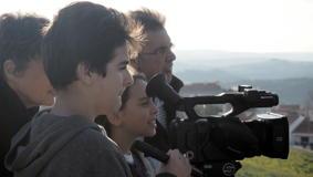 O MUNDO À NOSSA VOLTA / Cinema, cem anos de juventude - Filmagens exercícios @ Escola E.B.2.3 de Sobral de Monte Agraço