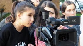 O MUNDO À NOSSA VOLTA / Cinema, cem anos de juventude - Filmagens exercícios @ Escola Básica Moinhos da Arroja - Odivelas