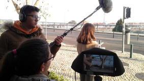 O MUNDO À NOSSA VOLTA / Cinema, cem anos de juventude - Filmagens exercícios @ Escola Secundária Miguel Torga - Sintra