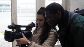 O MUNDO À NOSSA VOLTA / Cinema, cem anos de juventude - Filmagem exercícios @ Escola Secundária Marquês de Pombal