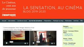 O MUNDO À NOSSA VOLTA / Cinema, cem anos de juventude 2020-2021 – Diário das Sensações @ Blog Cinémathèque Française