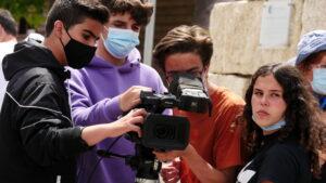 O MUNDO À NOSSA VOLTA / Cinema, cem anos de juventude - Filmagens filme-ensaio @ Escola E.B. D. Martinho Vaz Castelo Branco