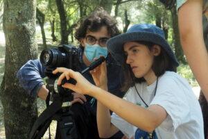 O MUNDO À NOSSA VOLTA / Cinema, cem anos de juventude - Filmagens filme-ensaio 2º dia @ Escola Secundária de Camões