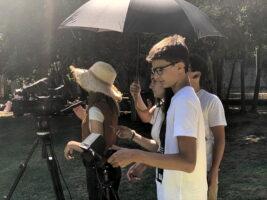 O MUNDO À NOSSA VOLTA / Cinema, cem anos de juventude - Filmagens filme-ensaio 2º dia @ Escola E.B.2.3 D.Carlos I - Sintra